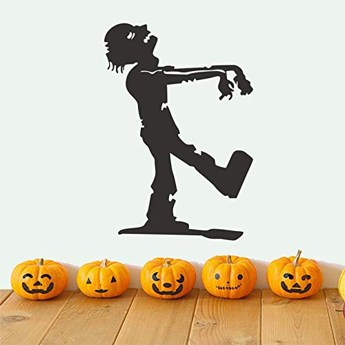 wanghan Walking Zombie The Mummy Halloween Party Decals Modern Wall Sticker for Kids Bedroom Living Room Home Decor Waterproof Wallpaper 44X63 -