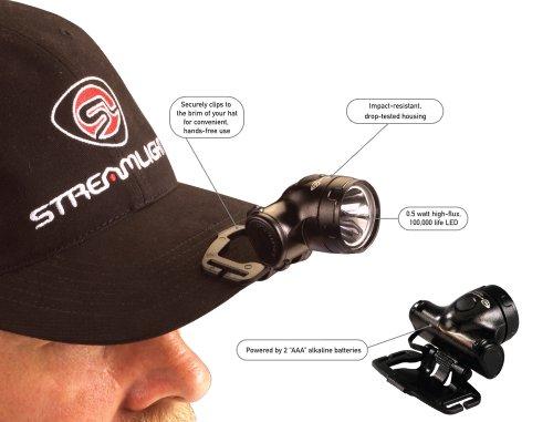 Streamlight Enduro Impact Resistant Headlamp, Elastic Strap