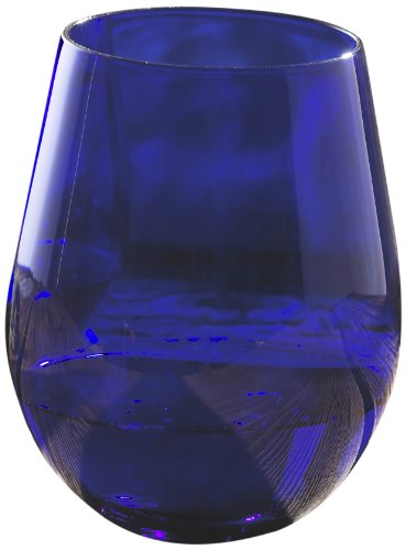 Wine Enthusiast Cobalt Glasses Blue