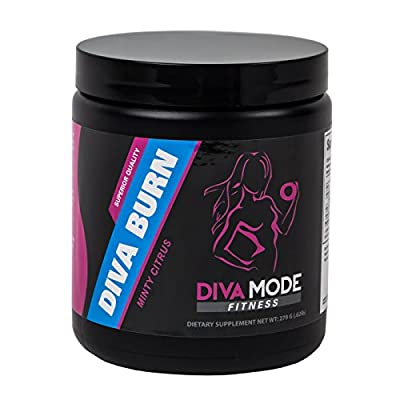 DIVA BURN Stimulant-Free Thermogenic Fat Burner, Energy and Weight Management Supplement for Women