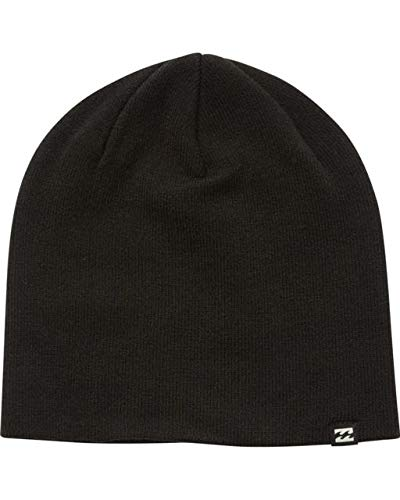 Billabong Men's All Day Beanie Hats,One Size,Black