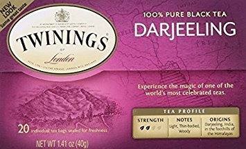 Twinings Darjeeling Tea, Tea Bags, 20 Count (Pack of - Tea Darjeeling Afternoon