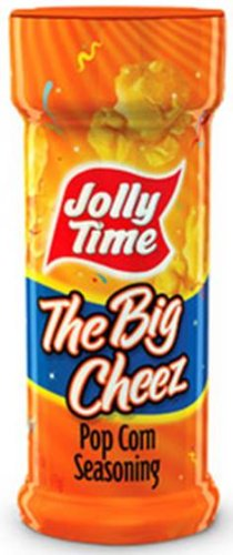 Jolly Time - The Big Cheez Reese Cheesy Popcorn Seasoning (New Label but SAME Reese Ingredients and Product inside!), Buy SIX Jars and Save, Each Jar is 2.75 Oz (Pack of 6)