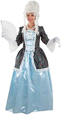 LBA Disfraz de época, Duquesa Azul. Contiene chaqueta, falda y ...
