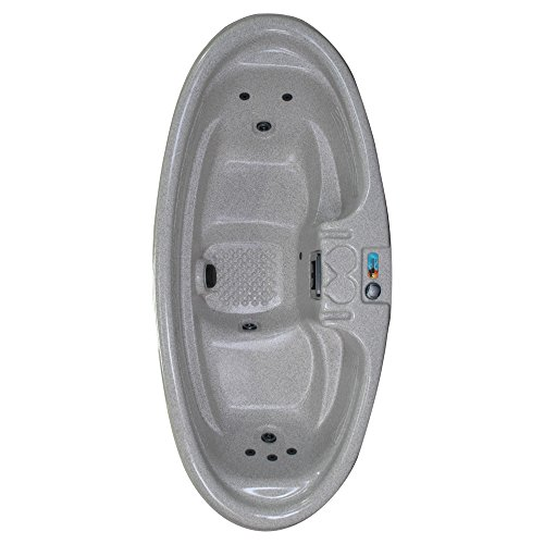 QCA Spas Model 0 Gemini Plug and Play Hot Tub, 92 by 42 by 29-Inch, SIERRA from QCA Spas