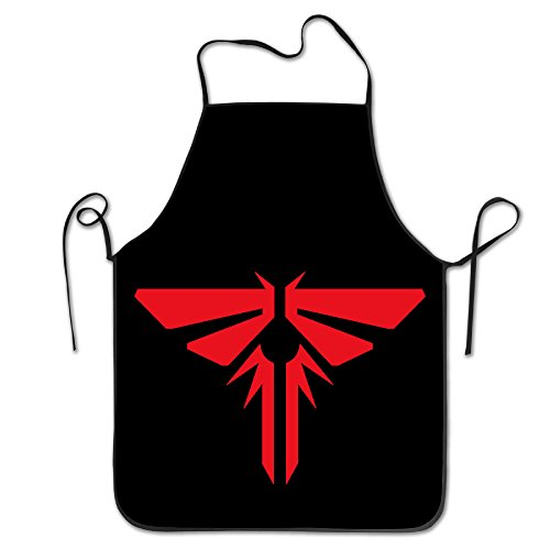 [The Last Of Us Logo Kitchen Aprons For Women Men] (Toddler Gardener Costume)