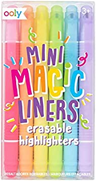 Ooly Do Over Highlighters Set of 6