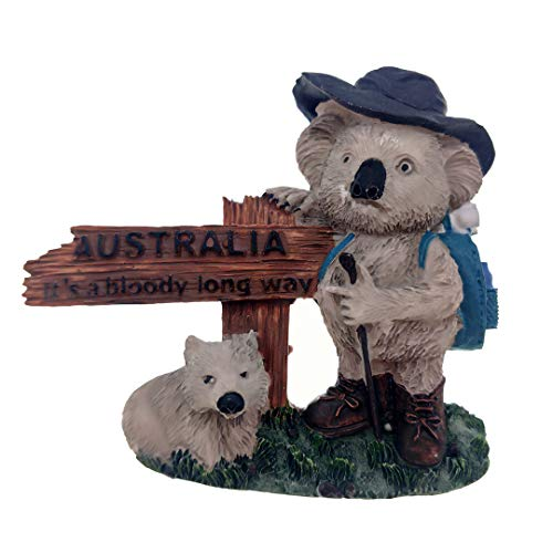 Australia Magnet Souvenirs Road Sign Koala Bear 3D Refrigerator Fridge Magnets Souvenir Sticker Kitchen Resin -