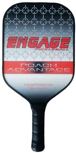 Engage Poach Advantage (Next generation) Pickleball paddle (Red (7.9 - 8.3 oz.)) by Engage Pickleball