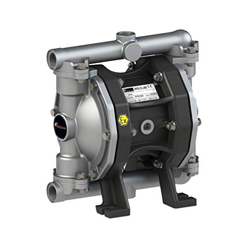 Wolflube Diaphragm Pump - Aluminum - 1/2'' - For Oil and Diesel - Free Flow Rate 14.5 gpm (Industries Gpm Spa)