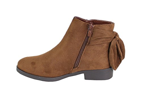 By Femme Daim Plate Shoes Bottine Style vpgrv