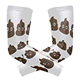 Arm Sleeves Shit Expression Man Baseball Long Cooling Sleeves Sun UV Compression Arm Covers