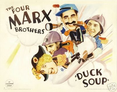 Marx Brothers Duck Soup Poster