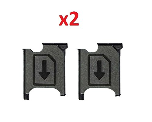 Used, By Walking Slow-2 Piece Micro SIM Card Tray Holder for sale  Delivered anywhere in USA
