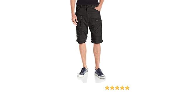 G-Star Raw Mens Powel Loose 1//2 Premium Twill Short