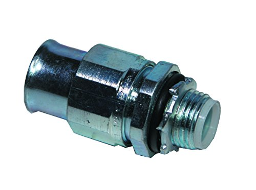 Anamet Electrical Type A Steel Fittings 5STNM75 - 3/4'' CNP Sealtite to 3/4'' NPT Straight, 5pc Package by ANAMET Electrical