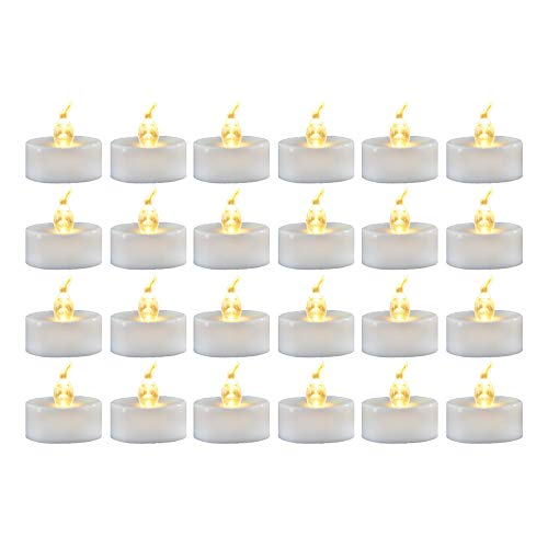 Led Light Votive Candles With Timer in US - 4