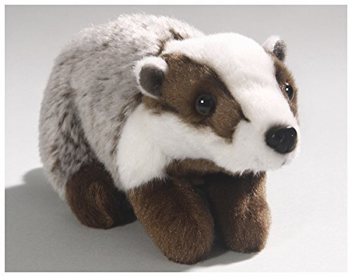 Carl Dick Badger 6.5 inches, 17cm, Plush Toy, Soft Toy, Stuffed Animal 3290