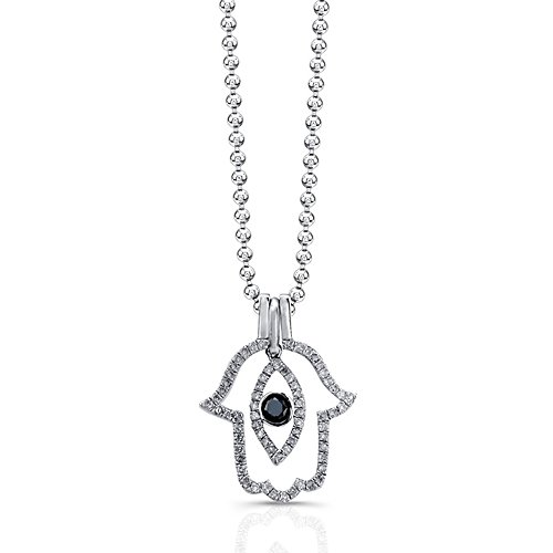 Victoria Kay 1/3ct Black and W