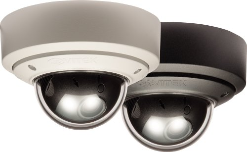 Vitek True Day/Night Vandal Proof Color Dome Camera w/2.9-10mm Varifocal Lens & 550TVL w/UTP (Black) (Proof Vandal Camera 550tvl Dome)