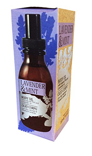 PHYTORELAX LABS LAVENDER & MINT BODY OIL 5 OZ. MADE IN ITALY ( Aceite corporal Menta y Lavanda ) Di Menta Mint