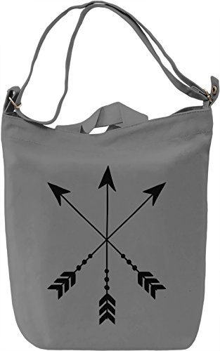 Arrows Borsa Giornaliera Canvas Canvas Day Bag| 100% Premium Cotton Canvas| DTG Printing|