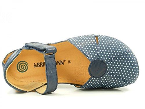 Dr. Brinkmann 710812 Bailarinas para mujer Blau