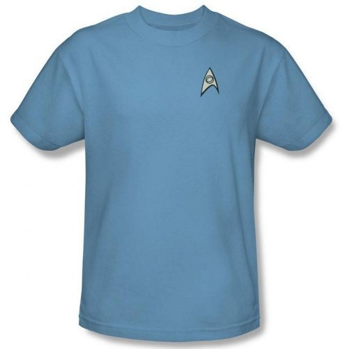 Star Trek Original Series Uniform (Science Uniform Star Trek The Original Series T-Shirt)