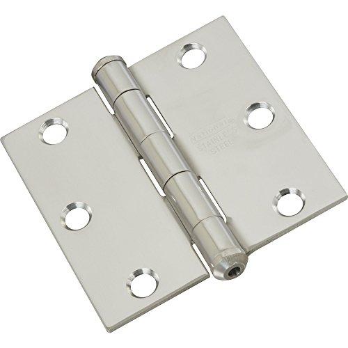 National Hardware N276-980 514 Door Hinges - Stainless Steel in Stainless Steel, 3
