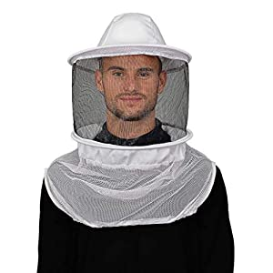 Humble Bee 210 Polycotton Beekeeping Veil with Round Hat (210-ST)