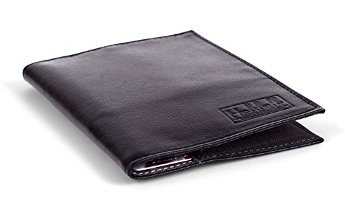 Design Genuine Leather (Holdall Design Men's Slim Genuine Leather Wallet (Black))