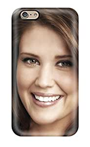 Awesome Design Sarah Lancaster Closeup Brunette Actresss People Women Hard Case Cover For Iphone 6