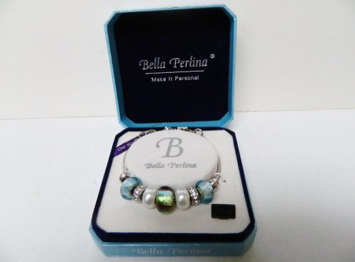 bella-perlina-blue-green-red-glass-beads-rhinestone-charm-bracelet-10024