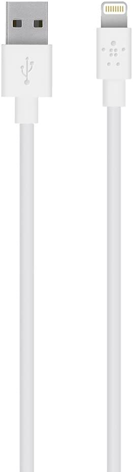 Belkin Apple Certified MIXIT Lightning to USB Cable, 6.6 Feet / 2 Meters (White)