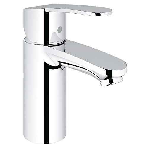 (Eurostyle Cosmopolitan Centerset Single-Handle Single-Hole Low Arc Bathroom Faucet)