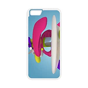 Iphone 6 Plus Case 3D Abstract Patterns by Leemarson for White Iphone 6 Plus (5.5)inch Screen lmar605981