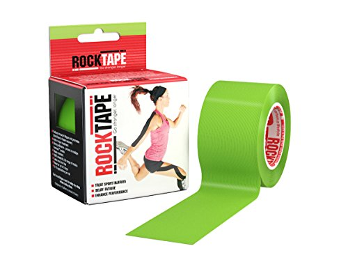 RockTape Kinesiology Tape for Athletes – 2-Inch x 16.4-Feet, Lime