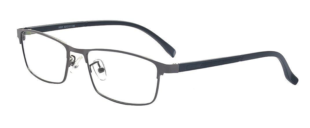 ALWAYSUV Voll Rahmen Rechteckig Linse Optische Stä rke Rahmen Brillenfassung Business Brille A2355-2