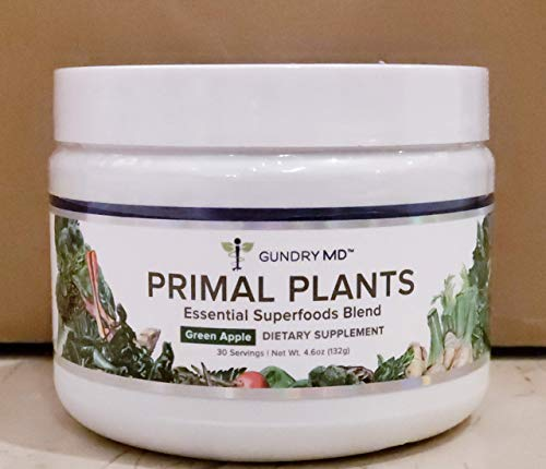 Gundry MD Primal Plants Essential Superfoods Blend 4.6 oz Jar