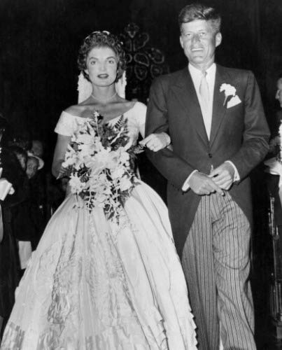 ConversationPrints John F Kennedy Jackie Onassis Wedding Glossy Poster Picture Photo Banner (John F Kennedy And Jackie Kennedy Wedding Photos)