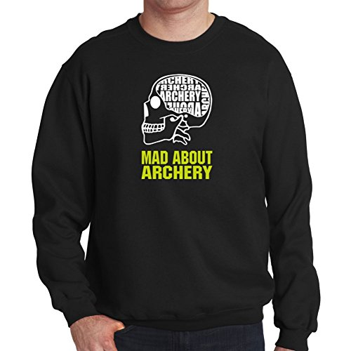 Felpa MAD ABOUT Archery SKULL
