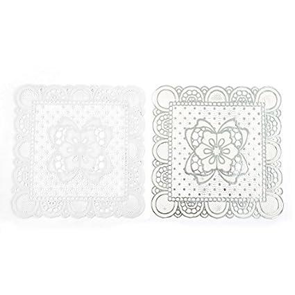 Amazon.com | Patrón floral eDealMax PVC Oficina ahueca hacia ...