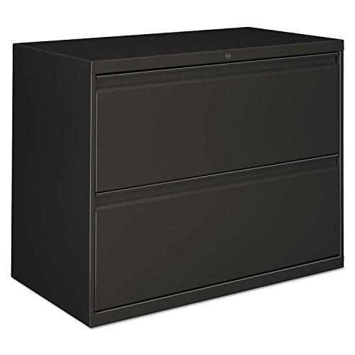 Alera 30 Inch Storage Cabinet - Alera LF3029CC Lateral File, 2 Drawer, 30w X 19.25d X 28.38h, Charcoal