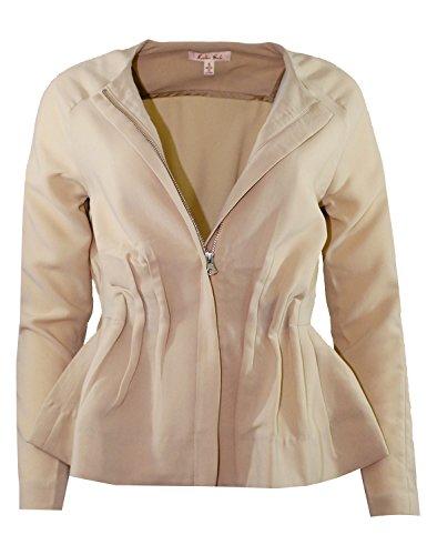 Ruffle Tweed Jacket - 8