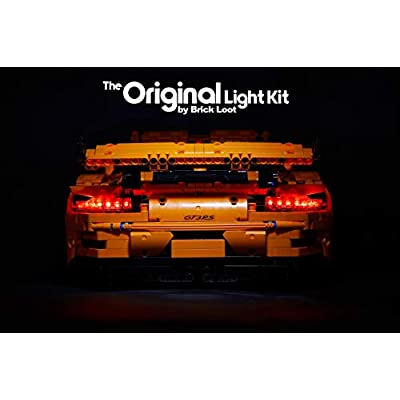 Brick Loot LED Lighting KIT for Your Lego Porsche 911 GT3 RS Set 42056 (Lego Set NOT Included): Toys & Games