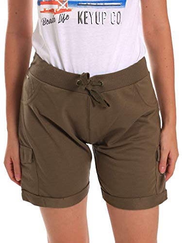 Shorts 5G75F 0001 up Donna Key Verde q6xOtYwtU