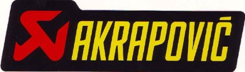 Akrapovic - p-hst2al - Logo adhesivo, 150 x 45 mm: Amazon.es: Coche y moto