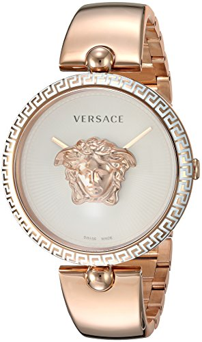 Versace Women's 'Palazzo Empire' Quartz Stainless Steel and Gold Plated Casual Watch(Model: VCO110017)