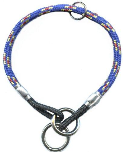 Mountain Rope Choke Collar 14 Inch- Hawaiian Blue – Small to Medium Dogs, My Pet Supplies