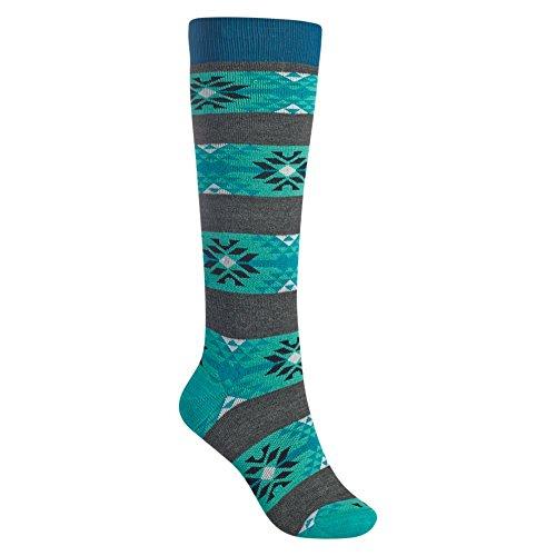 Burton Women's Weekend Socks (2 Pack), True Black, Small/Medium
